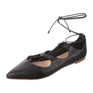 Loeffler Randall ballet flats with ties